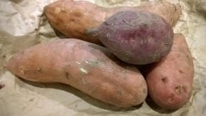 golden and red kumara's
