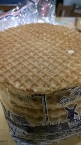 a dutch stroopwafel