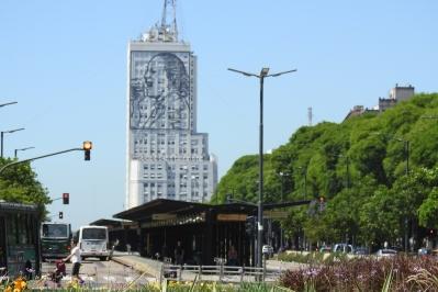 9 de Julio Avenue, widest avenue in the world!