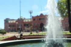 Casa Rosada, the presidents Working Palace.